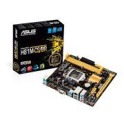BOARD H81M-CS/BR S/V/R DDR3 MICROATX LGA1150 - ASUS