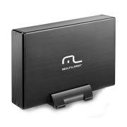 CASE PARA HD EXTERNO 3.5 NOVO C/ VENTILADOR GA119 - MULTILASER