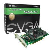 GPU 9800GT 1GB DDR3 256BITS 1400MHZ 01G-P3-N988-L1 - EVGA