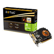 GPU GEFORCE GT MAINSTREAM ZT-71104-10L GT 730 1GB DDR3 128BITS 1800MHZ DUAL DVI MINI-HDMI - ZOTAC
