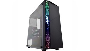 GABINETE GAMER RAIDEN CG11A8 PAINEL RGB RAINBOW S/FAN – KMEX