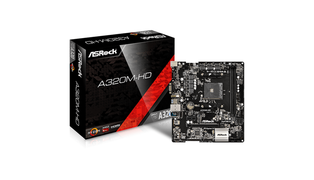 BOARD A320M-HD M-ATX DDR4 HDMI USB 3.0 AMD AM4 - ASROCK