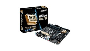 BOARD ASUS INTEL 1151 DDR4 MICRO ATX (H170M-PLUS/BR-90MB0QQ0-C1BAY0) - ASUS