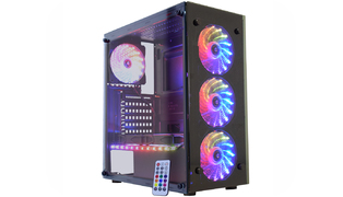 GABINETE GAMER 03N9 ATLANTIS 3, 3FAN 1 RGB RAINBOW - KMEX