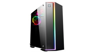 GABINETE GAMER FOX CG-06RB PTO 1FAN RGB - KMEX
