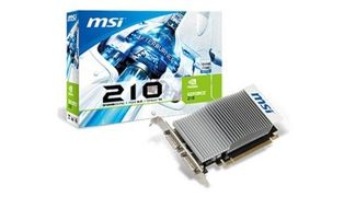 GPU GEFORCE 210 1GB PCI-E 2.0 N210 1GD2H/TC - MSI