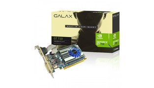GPU GEFORCE NVIDIA GT710 1GB DDR3 64BIT LOW PROFILE - GALAX