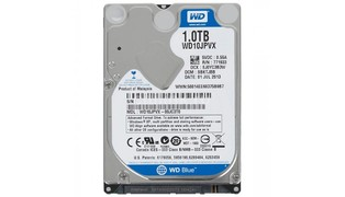 HD 1TB SATA 3 NOTEBOOK WD10JPVX-00JC3T01TB - WESTERN DIGITAL