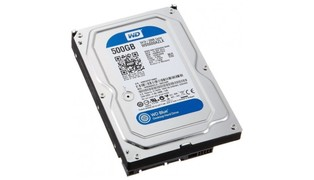 HD 500GB WD5000AZLX-00K2TA0 7200RPM - WESTERN DIGITAL