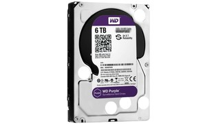 HD DESKTOP PURPLE SURVEILLANCE 6TB SATA3 5400RPM 64MB - WESTERN DIGITAL