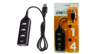 HUB USB 2.0 4 PORTAS - HI-SPEED