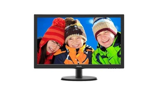 MONITOR 223V5LHSB2 LED 21.5 WIDE PRETO - PHILIPS