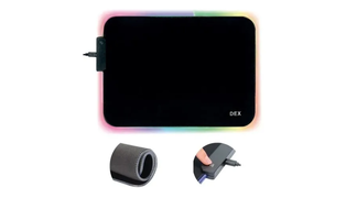 MOUSE PAD GAMER LED RGB RY-2535 - DEX M