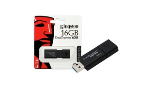 PEN DRIVE 16GB DATATRAVELER USB 3.0 DT100G3 - KINGSTON