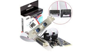 PLACA PCIE 2 SERIAL 1 PARALELA DP-03 - DEX