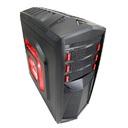 GABINETE GAMER ATX PRETO HTT018B06S S/ FONTE - GFIRE