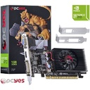 GPU GEFORCE NVIDIA GT210 1GB DDR3 64 BITS LOW PROFILE  N21T2GD364LP - PCYES