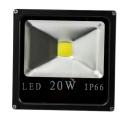 REFLETOR LED QD. 100-240V 20W IP66 LRH-20-01-B